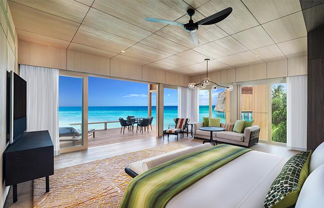 Coastal Villa Master Bedroom