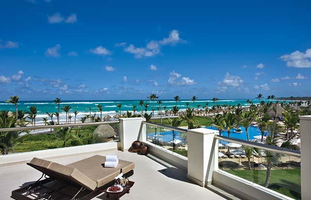 Balcony View of Beach