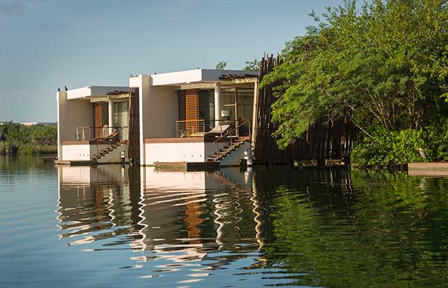 Overwater Lagoon Suite - Exterior