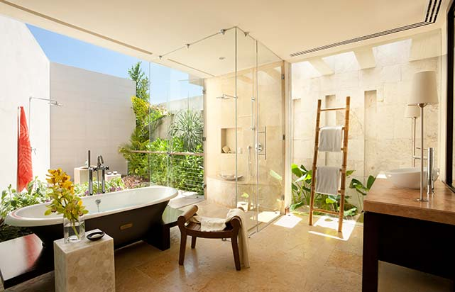 Overwater Lagoon Suite - Bathroom
