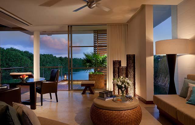 Overwater Lagoon Suite - Living