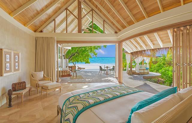 Beach Pool Villa - Bedroom