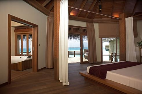 Water Bungalow Bedroom