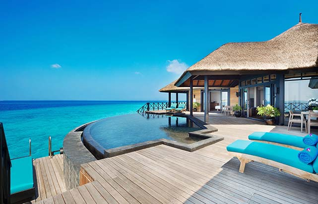 Grand Water Two Bedroom Suites with Private Infinity Pool Deck