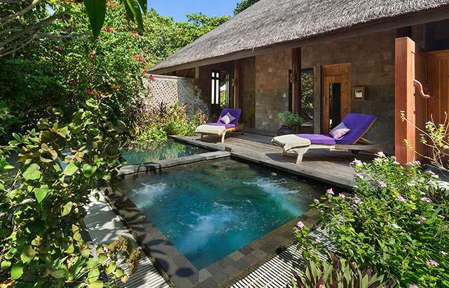 Spa & Salon Relaxation Area