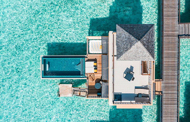 In Ocean Pool Villa - Aerial
