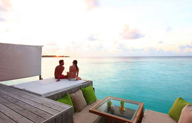 Laamu Water Villa - Deck