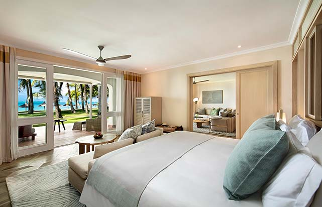 Beach Front Suite - Bedroom