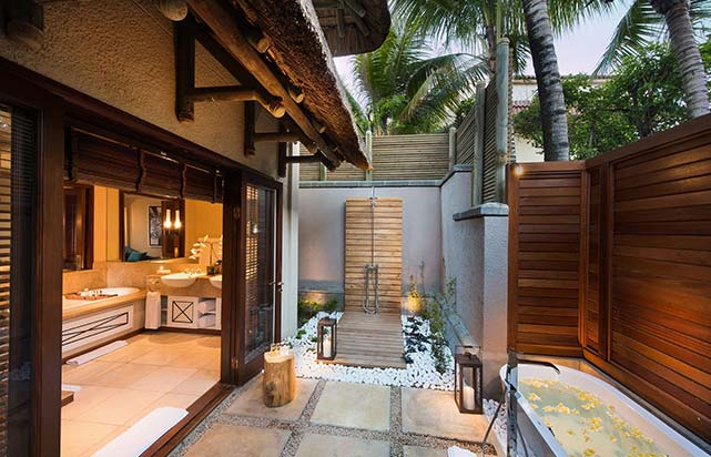 Presidential Suite Outdoor Shower