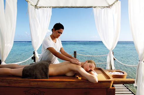 Spa Massage by Ocean