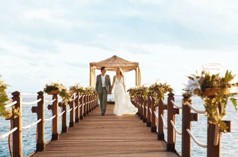 Wedding Couple Jetty
