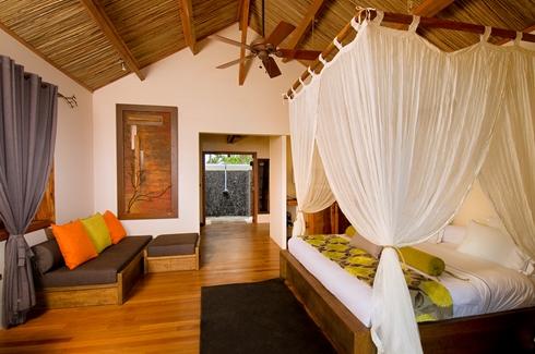 Lakaz Chamarel - Bedroom