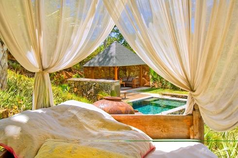 Lakaz Chamarel - Day Beds