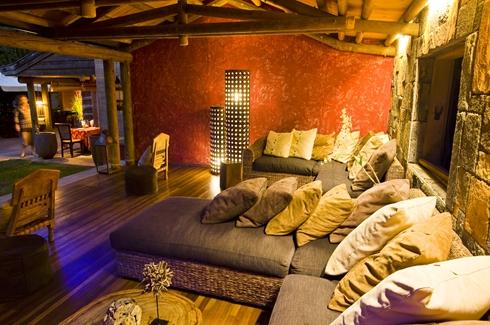 Lakaz Chamarel - Living area