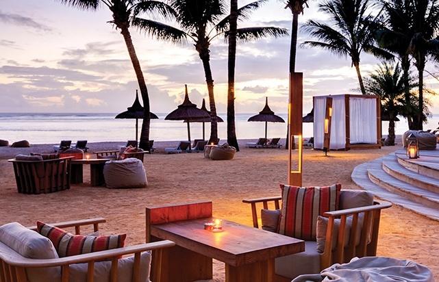 Bar Bleu Beach Seating