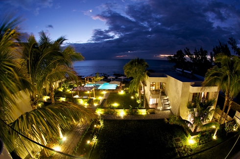 Leora Beach Apartment - Aerial View