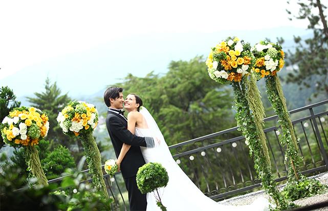 Oriental Spring Wedding