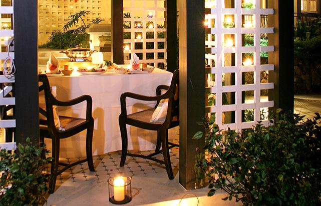 Private Dining under Gazebo