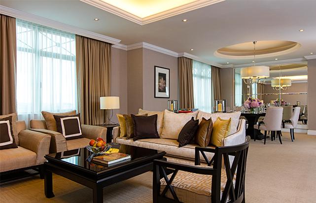 Two Bedroom Suite Living Room (Suite Wing)