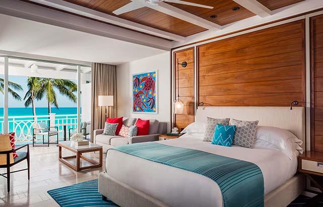 Ocean Room - Bedroom
