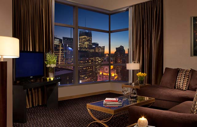 Millennium Suite - Time Square View