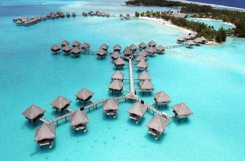 Le Meridien Bora Bora - Aerial View