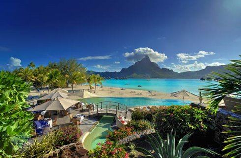 Le Meridien Bora Bora - Pool