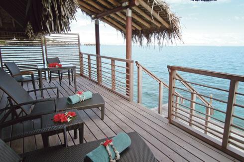 Overwater Villa Deck