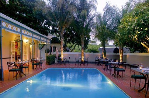 Pool Patio Dining