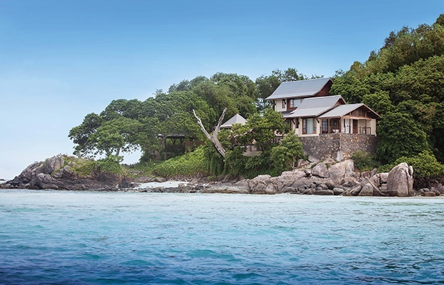 Enchanted Island Seychelles- Beach