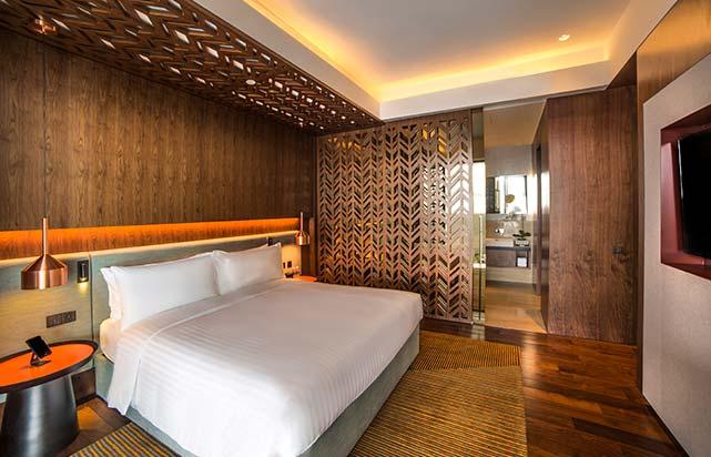 Club Suite bedroom