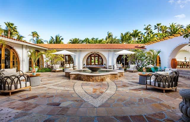 Spa - Courtyard