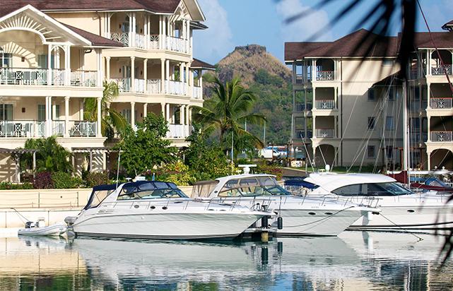 Marina Scene