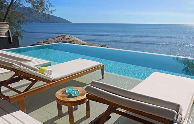 Grand Ocean View Pool Villa Infinity Pool