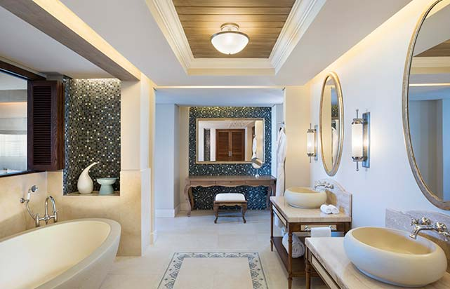 St Regis Grand Suite Bathroom