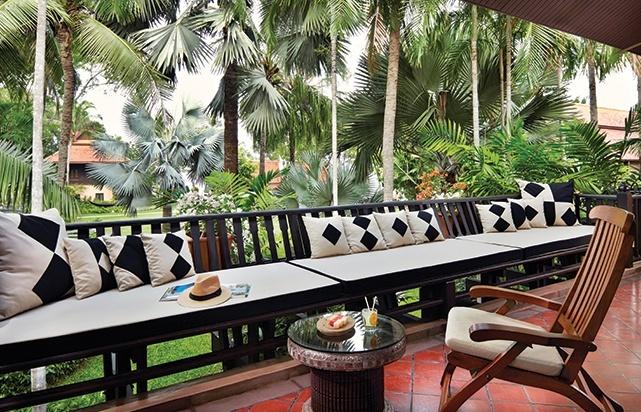 Anantara Garden View Suite Balcony