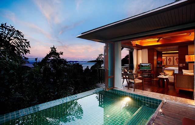 One Bedroom Ocean Facing Villa with Pool