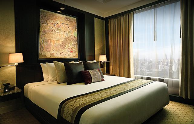 Deluxe View Suite Bedroom