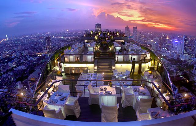 Open- Air Restaurant