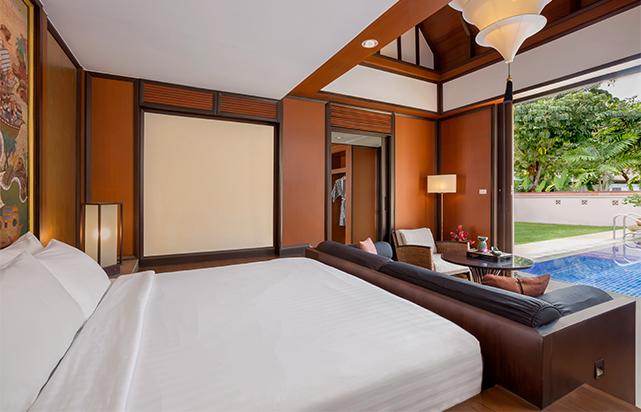 Guest Room Signature Pool Villa Bedroom