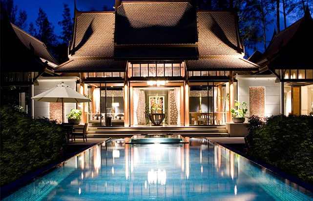 Double Pool Villa Exterior
