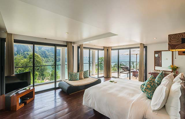 Hilltop Pool Villa - Bedroom