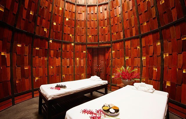 Lescape Spa Massage Room