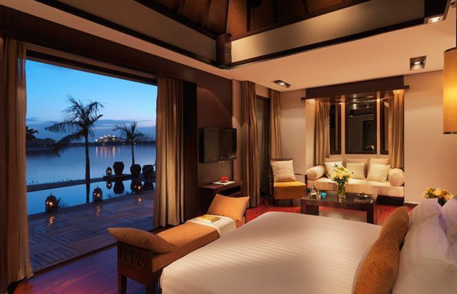 1 Bedroom Beach Villa Bedroom