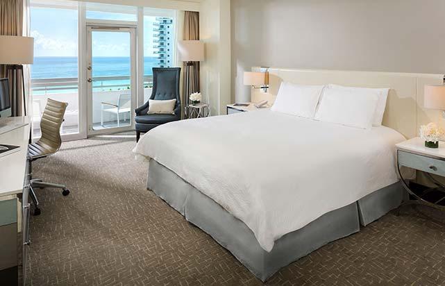 Ocean Front Room with Balcony
