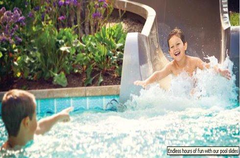Hotel Pool Slides