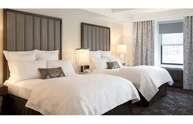 Deluxe Salon - Queen Bed