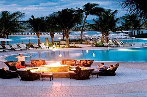 Resort Pool & Fire