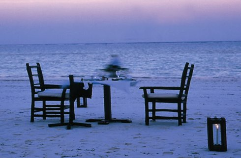 Breezes Beach Club - Beach Dinner