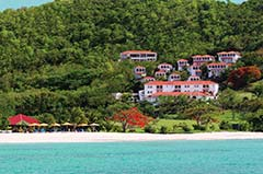 Mount Cinnamon, Grand Anse Beach